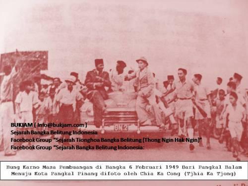 Soekarno di Bangka 1949