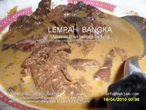 Lempah Makanan KHAS Bangka Belitung Indonesia